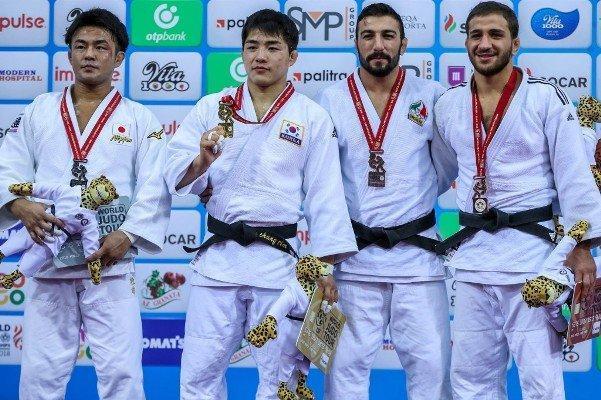 کره و ژاپن دو طلای روز سوم را کسب کردند، شاهکار بریمانلو در باکو
